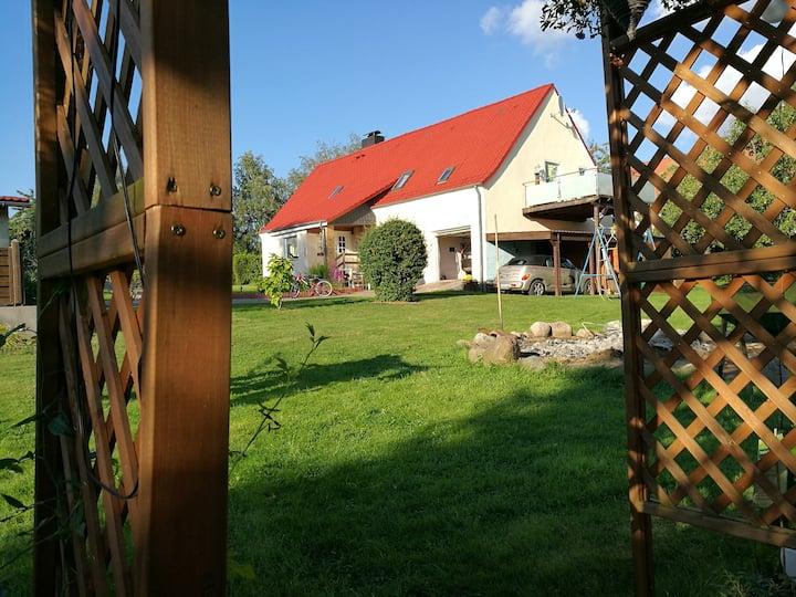 Idyllische Ferienwohnung Nähe Ostsee