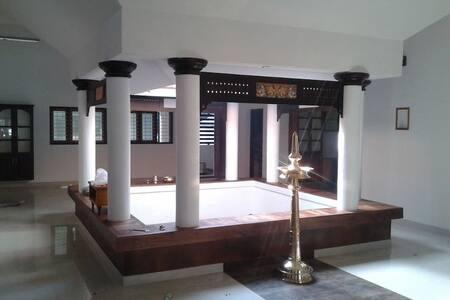 SOUBHADRAM-A TRADITIONAL KERALA NALUKETTU  HOUSE