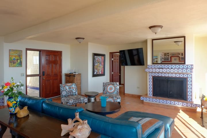 Relax with all the comforts of home - Downstairs living room