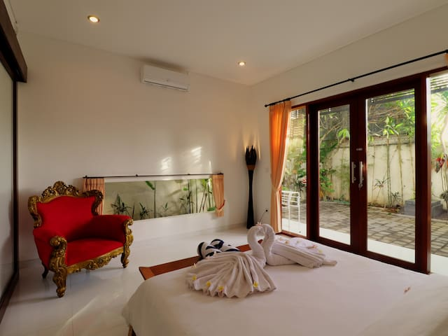 Sanur Private room 104 with terrace and kitchen