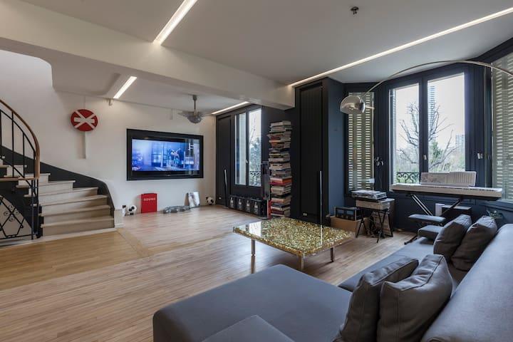 Stunning arty mansion Neuilly - Neuilly-sur-Seine - Casa
