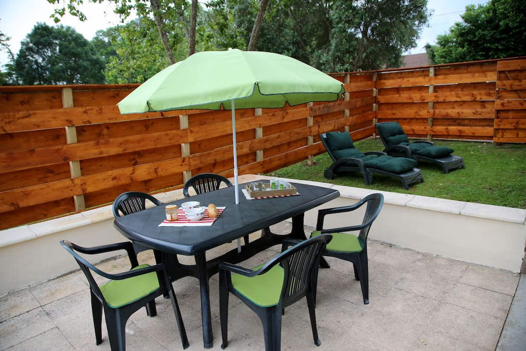 Terrasse & jardinet