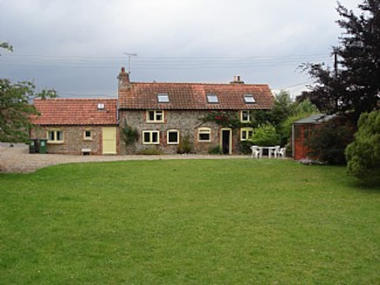 Cottage and large garden