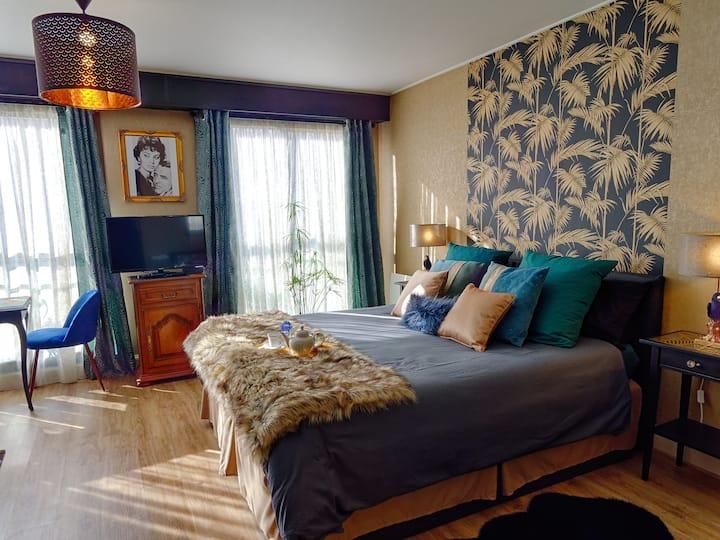 Studio Sophia, bel appartement au bord de l'Odet