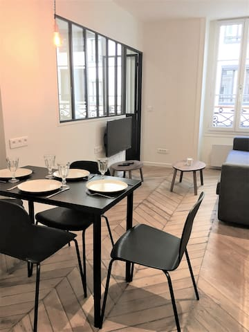 charming 40m²rue moreau in mobility lease
