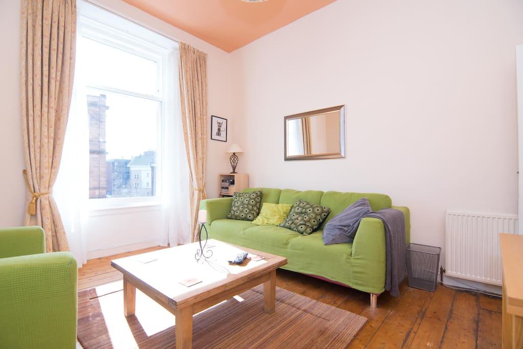 Bright spacious main living area