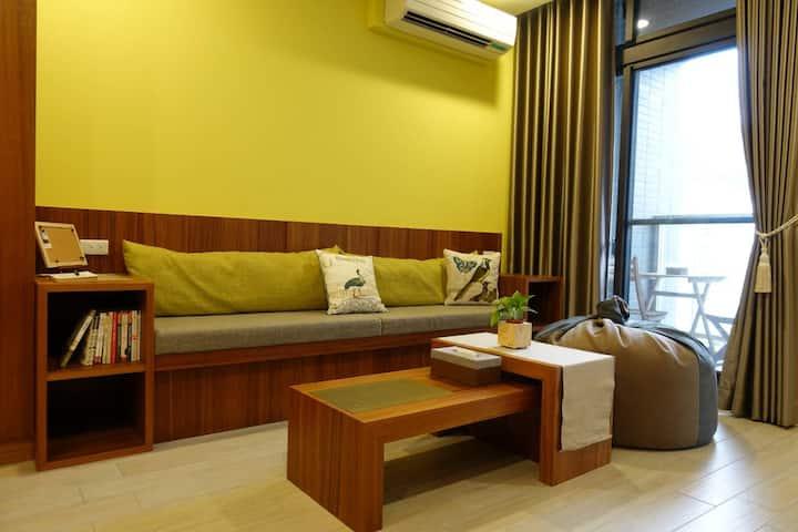 甲蟲旅店  宜蘭礁溪龜山島景觀樓中樓溫泉湯屋
