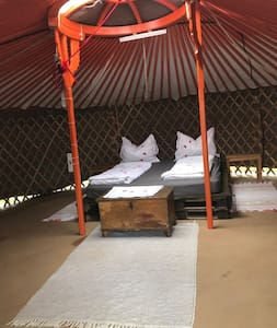 Yurt Village Orange