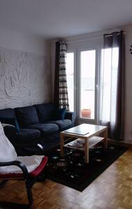 T2 LUMINEUX tram Pilier rouge - Brest - Apartament