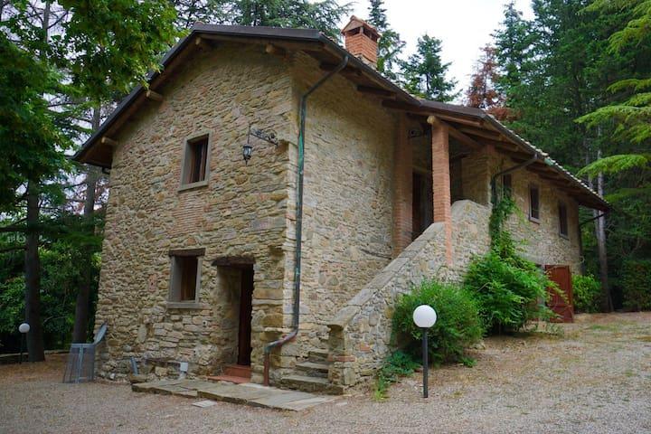 True isolation: Villa Il Poggiolo - fully private