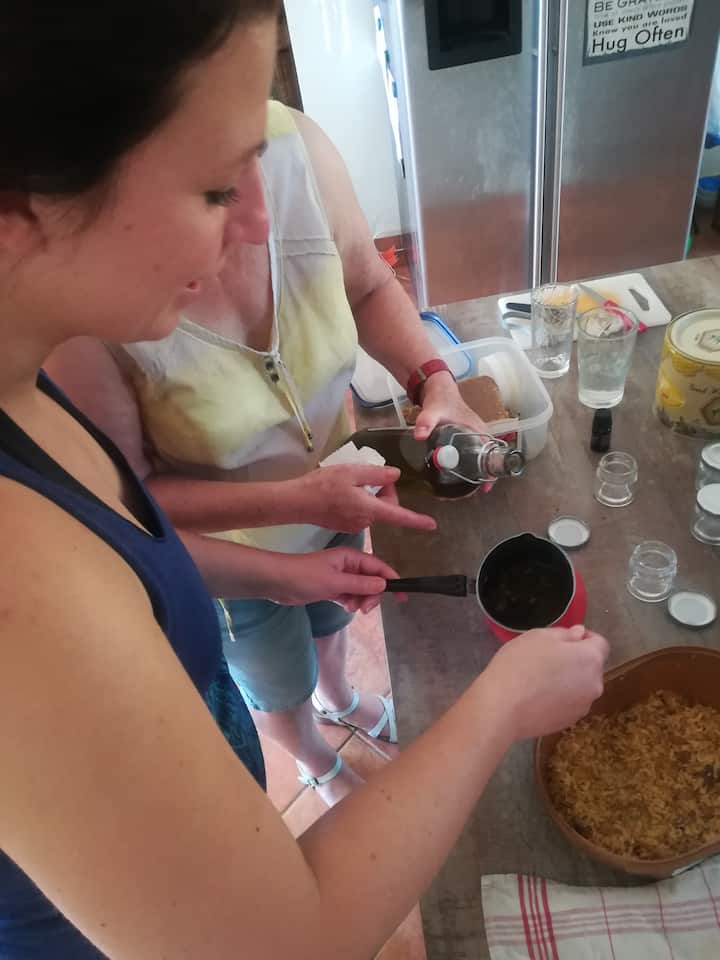 Making of our cream