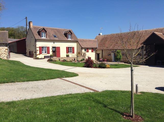 Studio à la ferme à 25min du Mans - Saint-Jean-d'Assé - Guesthouse