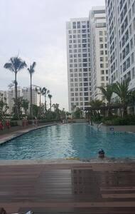 Sai Gon Suburban Riverside Apartment with 1 Br