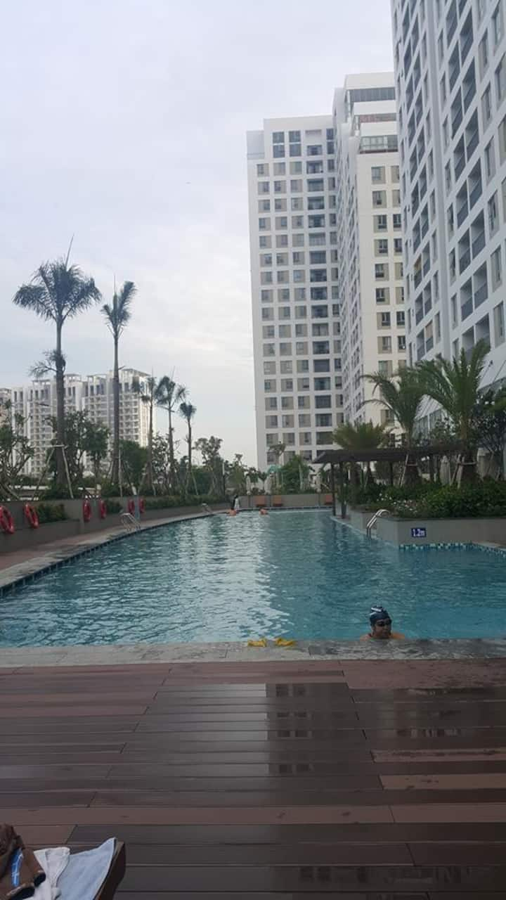 Sai Gon Suburban Riverside Apartment with 1 Br