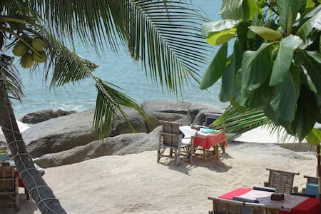 COPACABANA 2/4P  ACCES DIRECT PLAGE  10M + CUISINE - Ko Samui
