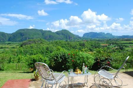 Casa Vista Alegre Balcony to the Valley
