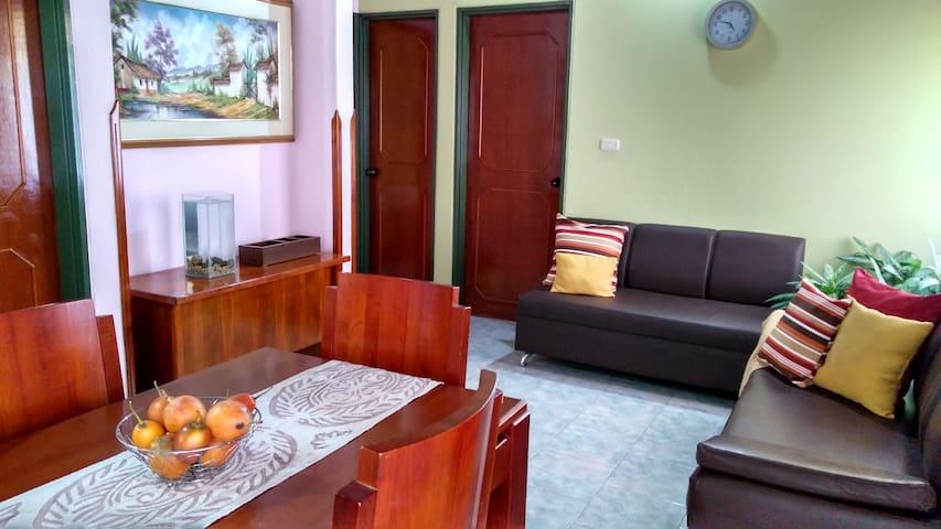 Habitación privada central - San Gil
