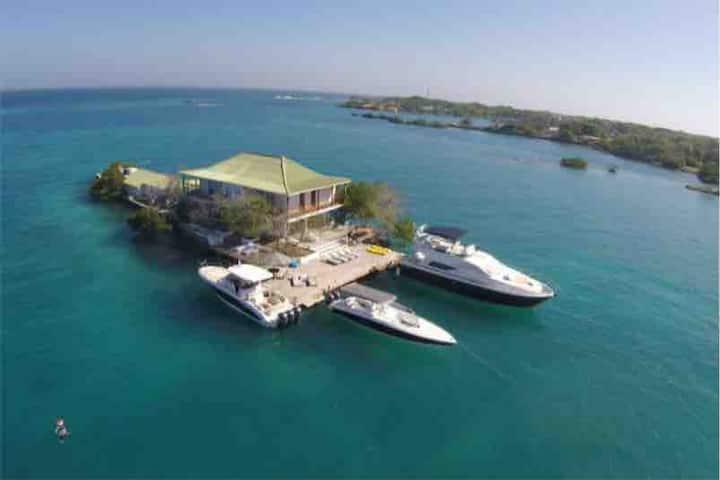 Exclusive and Private Rosario Island Villa