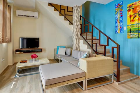 Two Story Honeymoon Suite in Paradise