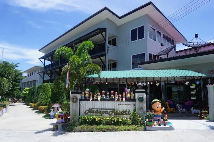 Nadapa Resort with nice garden&center of koh tao