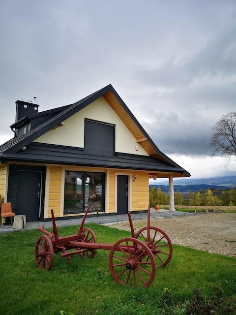 Góralski dom z Sauną , miejce do wyciszenia się