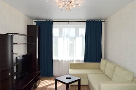 Cozy apartment in Moscow near the Metro station