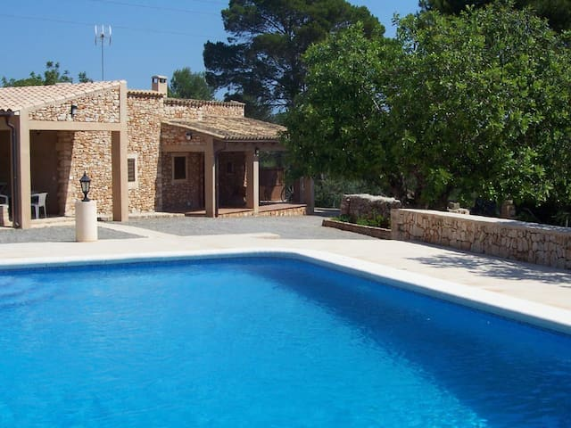 encantadora villa en portopetro, piscina privada - Santanyí - Willa