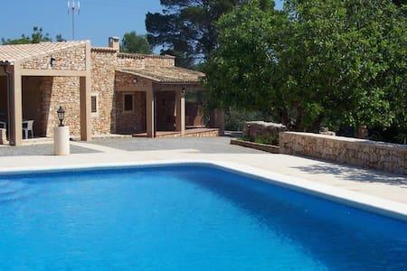 encantadora villa en portopetro, piscina privada - Santanyí - Casa de campo