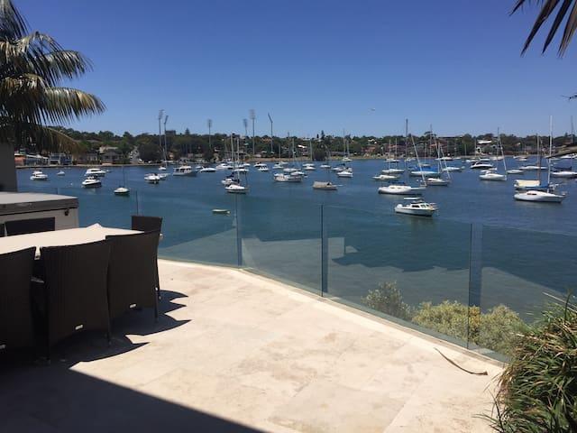 Luxury home. Superb water views. 7km City, Sydney.