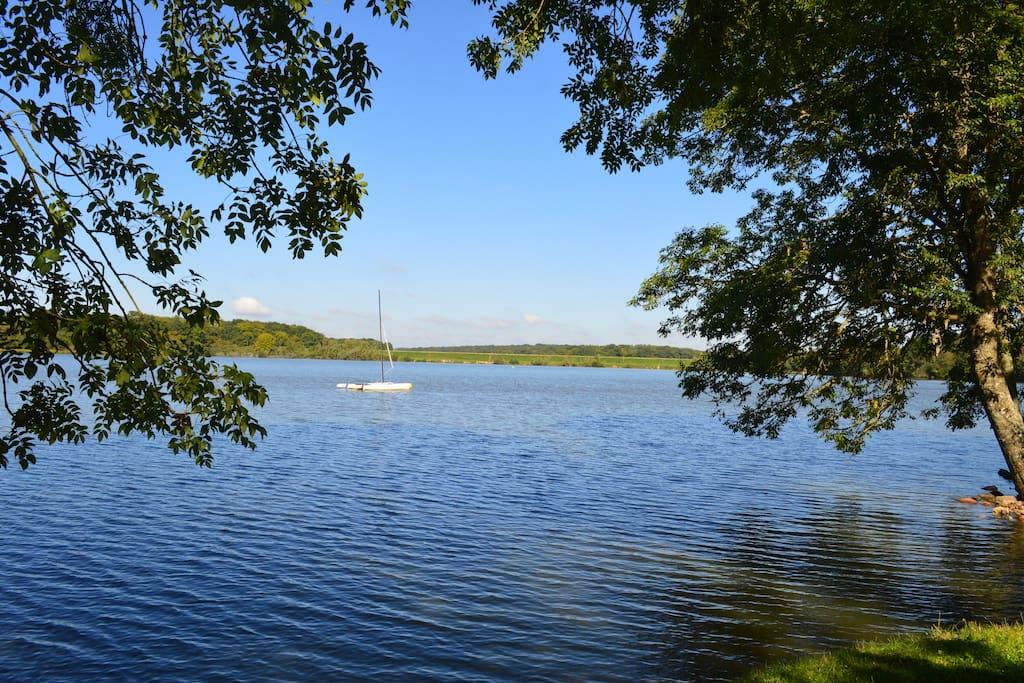 Plan d'eau de Baye - 75 ha