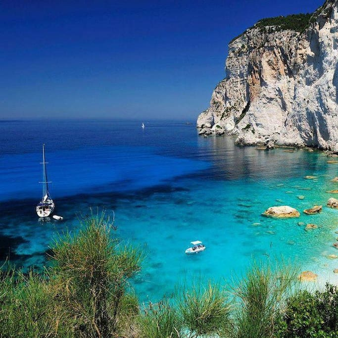 West Cost of Paxos Island!!