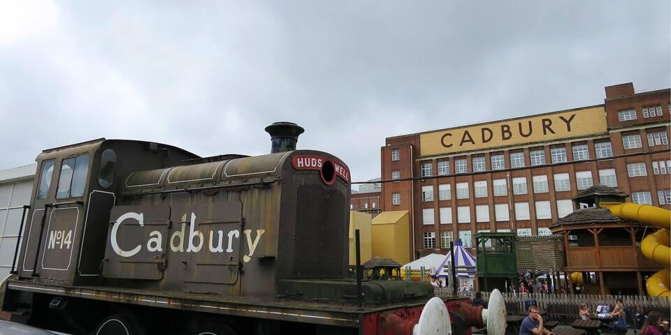 Cadburyworld!! All the chocolate you can eat :-) 18m