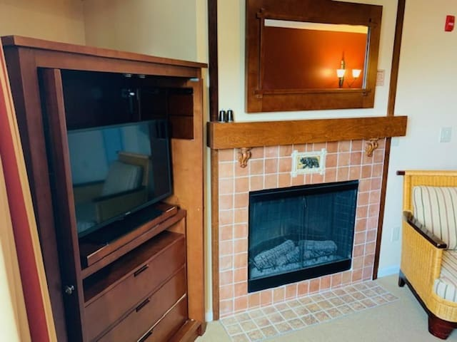 Appalachian Hotel Getaway/Studio +/Mtn Front/Fireplace/WiFi/Pool/Hot Tub/#308