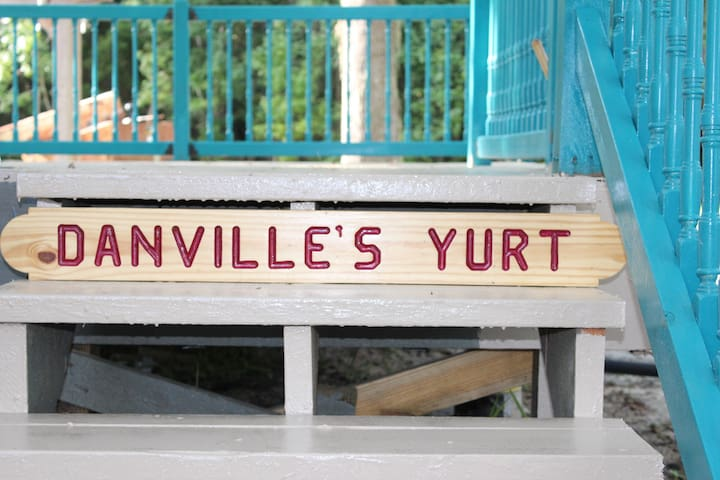 The new Yurt is part of the Danville eclectic collection along with the man cave, and the Danville Inn.