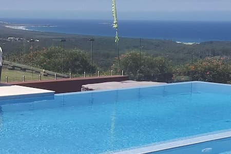 Skyview Sweeping Ocean Views. Infinity pool+Sauna - Sapphire Beach - House