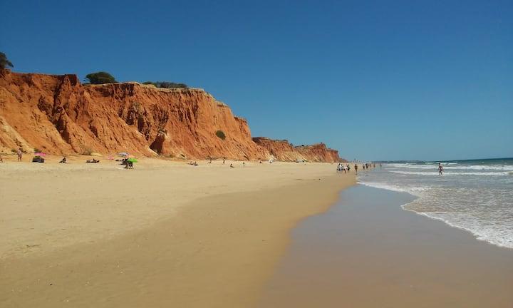 Algarve-Alfamar - Albufeira -T2 Praia Falésia 350m