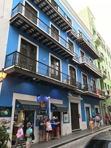 Elegant Antique Property in Old San Juan