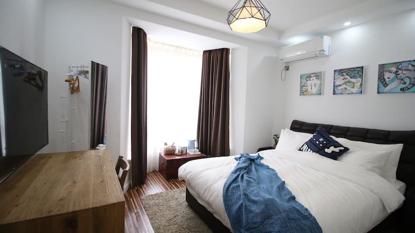 大樹下小墅之禧房---特价房198元起。我們所有做的全都源于您的到來 - Zhoushan - Casa de campo