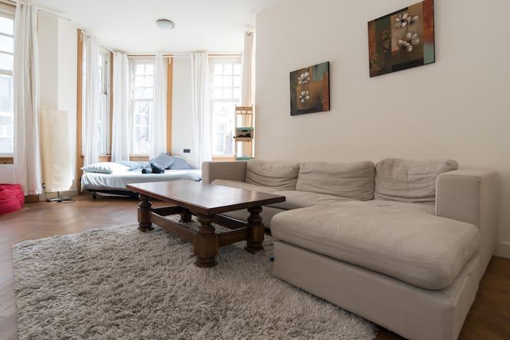 Amsterdammer choice! Leidseplein 2min walking - Amsterdam - Apartemen