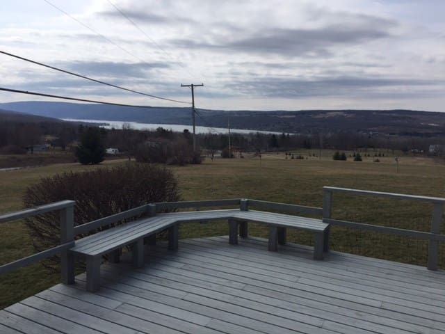 'Hilltop' - Best View in Finger Lakes - Honeoye - House