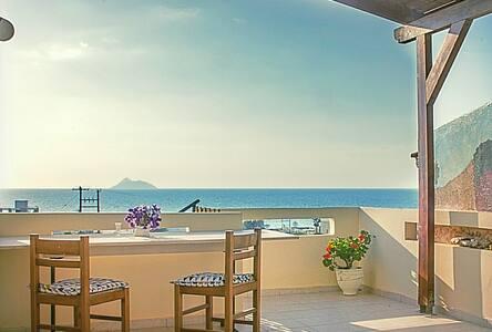 M*Sunset view•near sea•Kalamaki•Crete•Michael's *