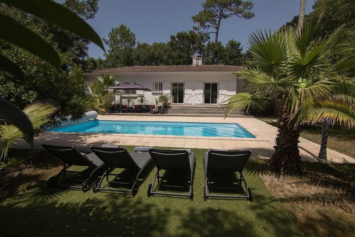 Belle maison pour des vacances à la plage Hossegor
