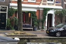 "Very quiet location in "" De Jordaan-area""."