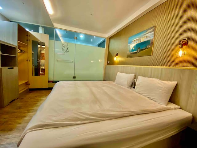 ★2 Sweet Love River Apartment Suite near MRT O2