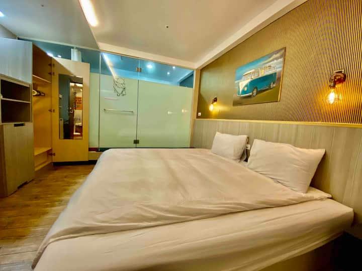 ★2 Sweet Love River Apartment Suite near MRT O2