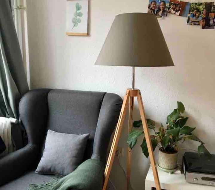 cozy 1 room apartment with balcony in Steglitz