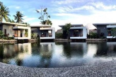 Modern house Surrounded by the Pond - Koh Samui