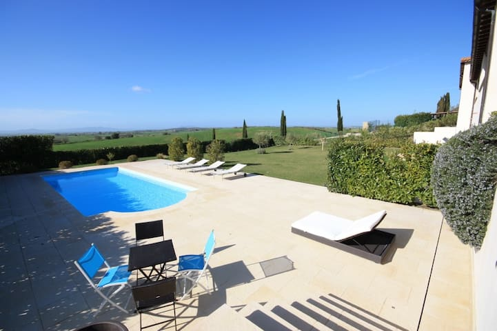 Exclusive Villa with pool - Tarquinia - Villa