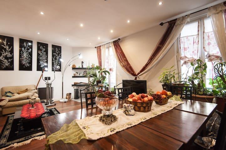 Chambre agréable plein centre ville - Nice - Leilighet
