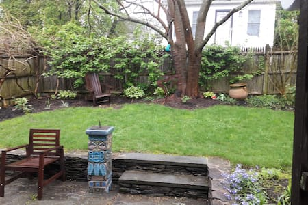 Warm and serene home in Roslindale part of Boston